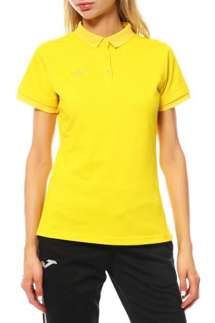 Поло женское Joma 900444,9 желтое L