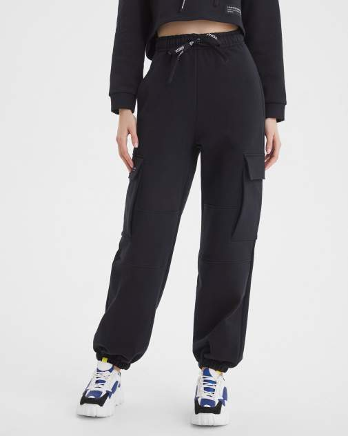 Женские спортивные брюки BARMARISKA Космос черный, черный