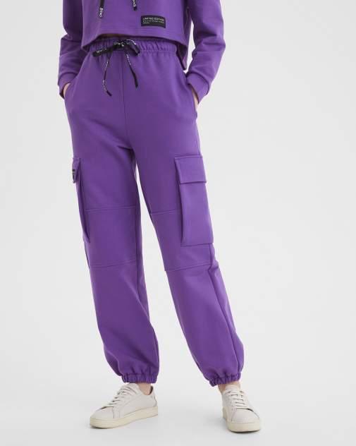 Женские спортивные брюки BARMARISKA Космос фиолетовый, фиолетовый