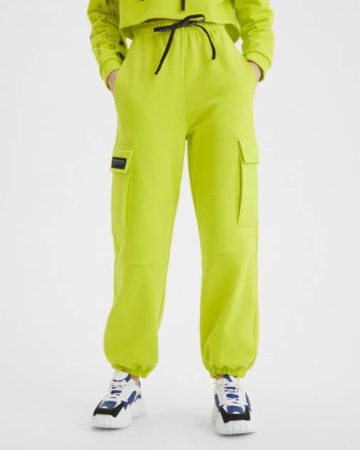 Женские спортивные брюки BARMARISKA Космос салатовый, зеленый