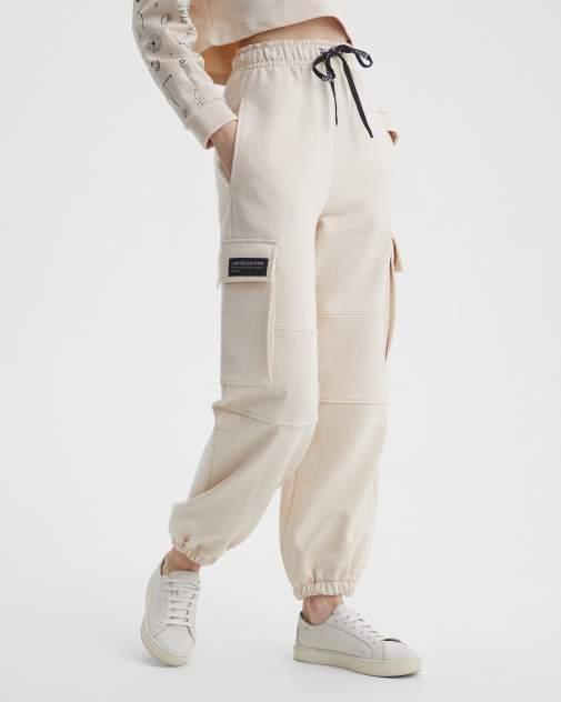 Женские спортивные брюки BARMARISKA Космос бежевый, бежевый