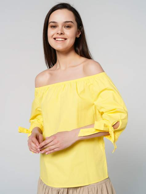 Блуза женская ТВОЕ A6424 желтая XS
