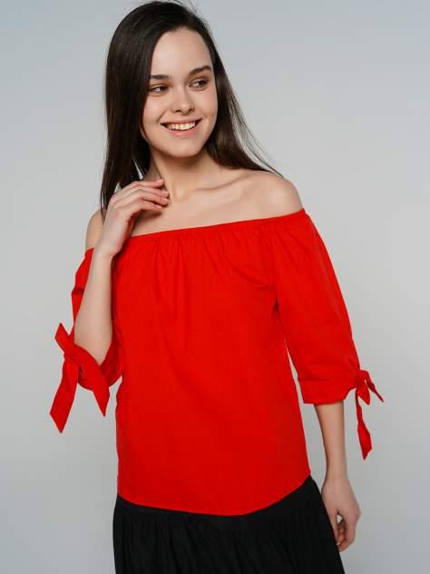 Блуза женская ТВОЕ A6424 красная XS