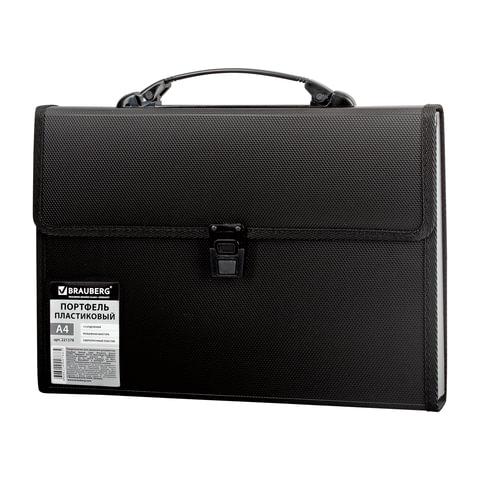 Папка для документов унисекс Brauberg 221378 черная