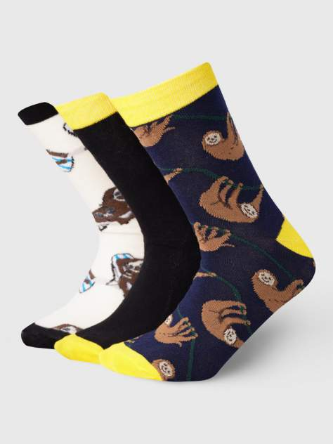 Набор носков мужской ТВОЕ A8016 разноцветный Z405