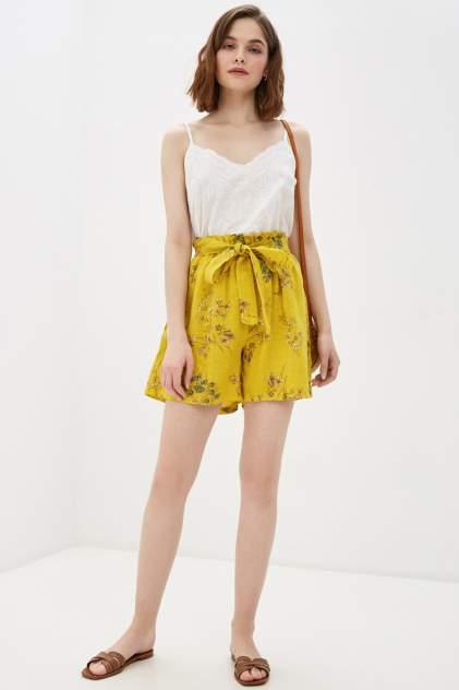 Повседневные шорты женские Baon B320012 желтые L