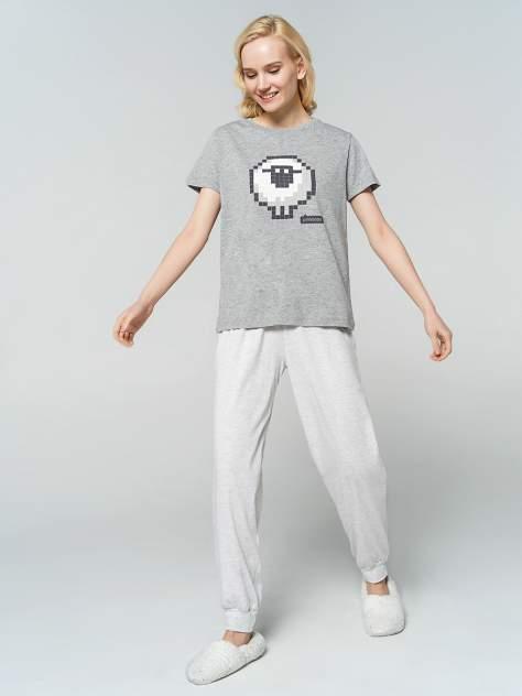 Пижама женская ТВОЕ 77235 серая XL