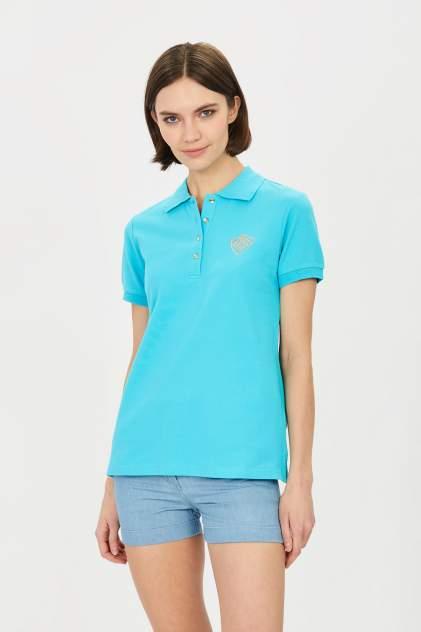 Поло Baon B201201, голубой