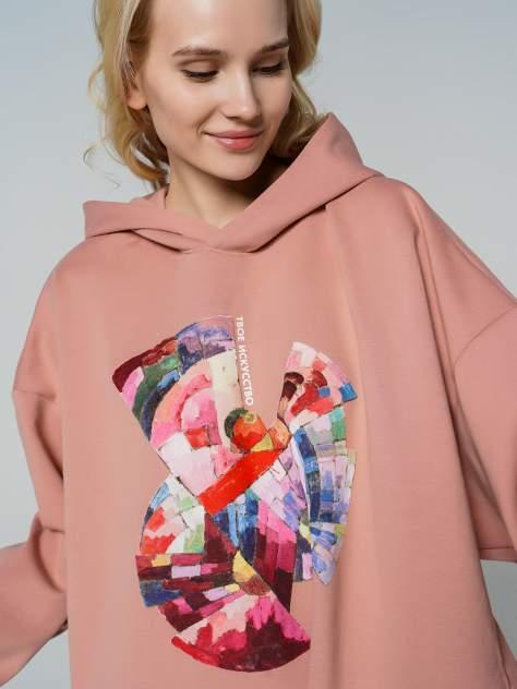 Худи женское ТВОЕ 79791 розовое XL/XXL