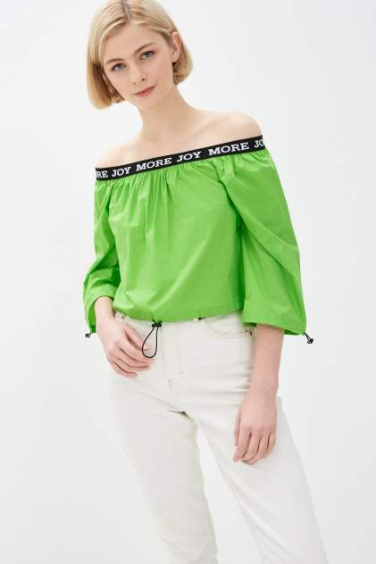 Блуза женская Baon B190022 зеленая L