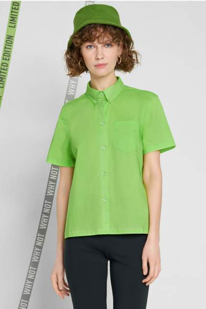 Женская рубашка Baon B190023, зеленый