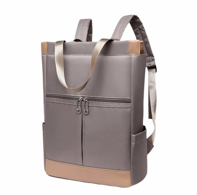 Рюкзак для ноутбука женский MyPads M-1173 серый