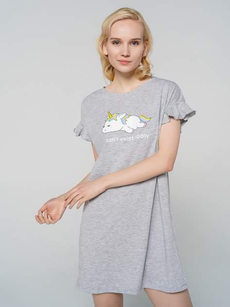 Ночная сорочка женская ТВОЕ 79519 серая M