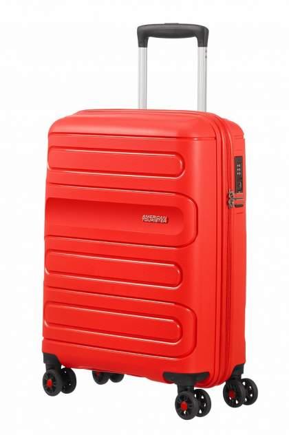 Чемодан American Tourister 51G, красный