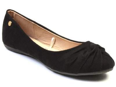 Балетки женские Xti 570081 черные 36 RU