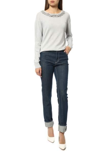 Пуловер женский Blugirl 2016/131 серый 40 IT