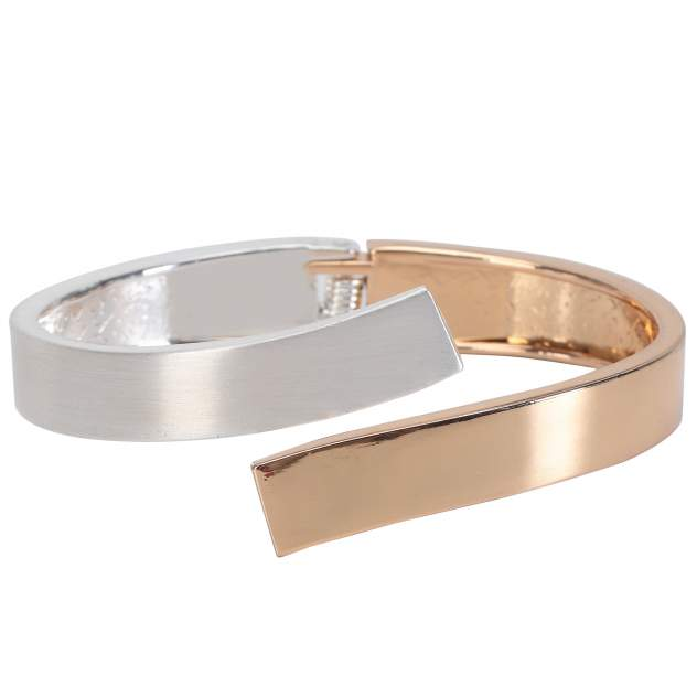 Браслет женский Ekonika EN40080-gold-silver-21L золотистый/серебристый, р.21
