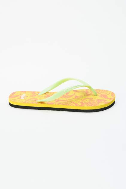Шлепанцы женские Effa 52357 желтые 40 RU