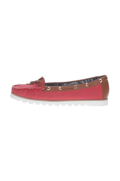Мокасины женские Airbox 135978 красные 37 RU