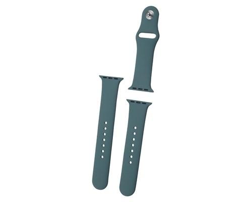 Ремешок для часов Everstone ES-AWBS-108 Green для Apple Watch 38/40mm, зеленый