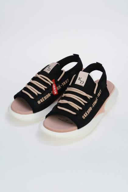Сандалии женские Keddo 807711/02 черные 36 RU