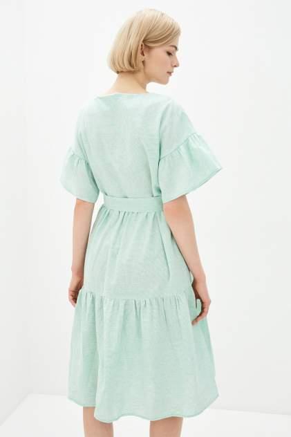 Повседневное платье женское Baon B450052 зеленое XL