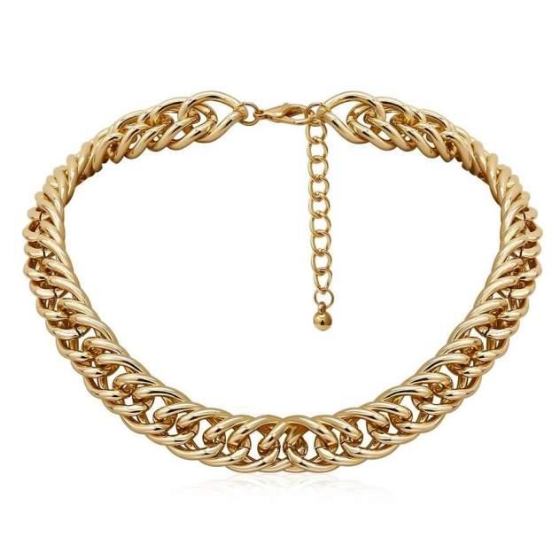 Чокер your jewerly ts-0000030 золотистый 46 см