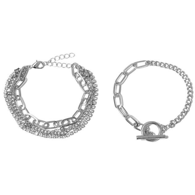Комплект GRANDE STELLA ts-0000025 серебристый, р. 21,5