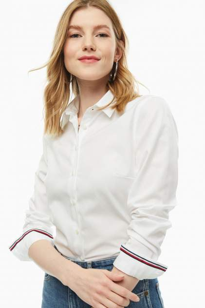 Женская рубашка Tommy Hilfiger WW0WW25269 100, белый