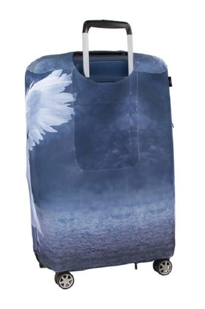 Чехол для чемодана RATEL R3_80_099WT_052_BF260U_M СИНИЙ, БЕЛЫЙ