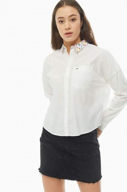 Женская рубашка Tommy Jeans DW0DW07755 YA2, белый