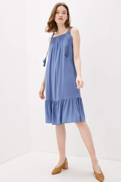 Платье-сарафан женское Baon B460020 синее M
