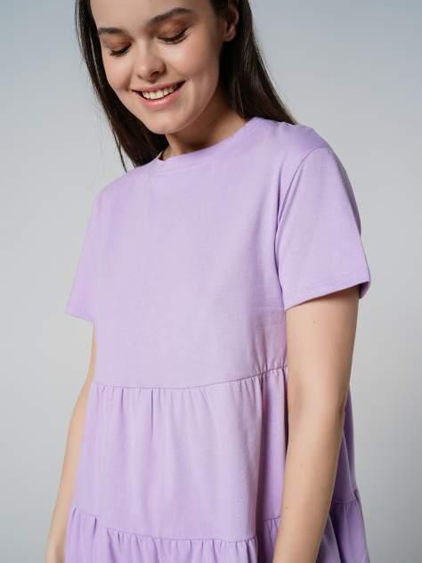 Повседневное платье женское ТВОЕ 80604 фиолетовое XS