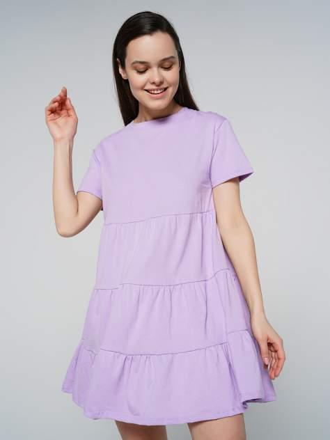 Повседневное платье женское ТВОЕ 80604 фиолетовое S