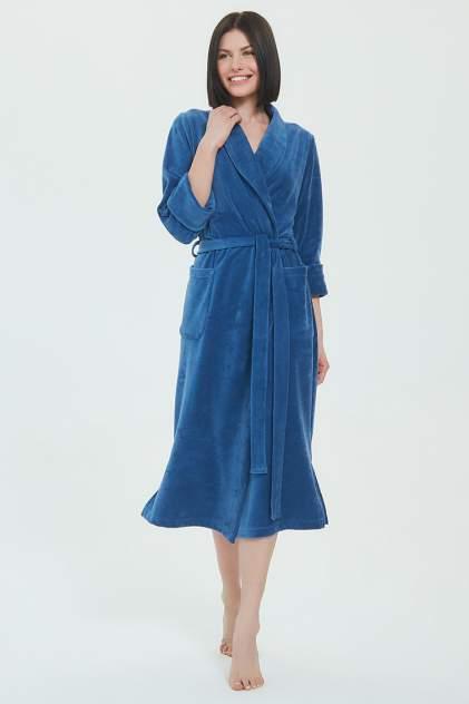 Домашний халат женский EvaTeks Curves, синий