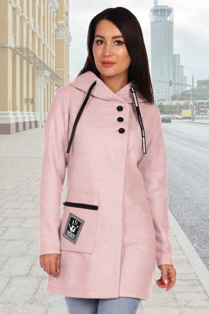 Женское пальто Миллена Шарм Баккарди, розовый