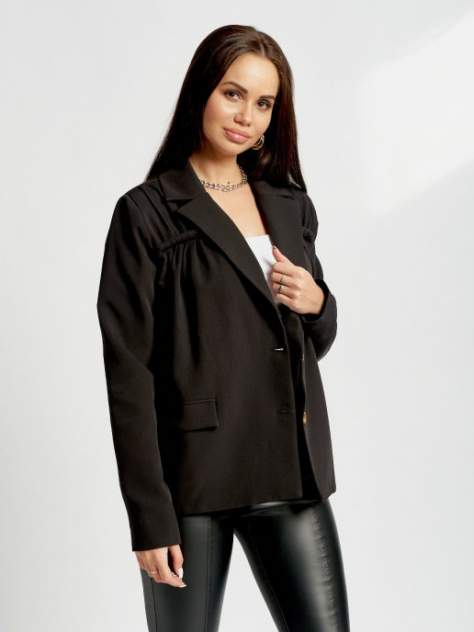 Пиджак женский DAZZLE STYLE Вита черный 42 RU