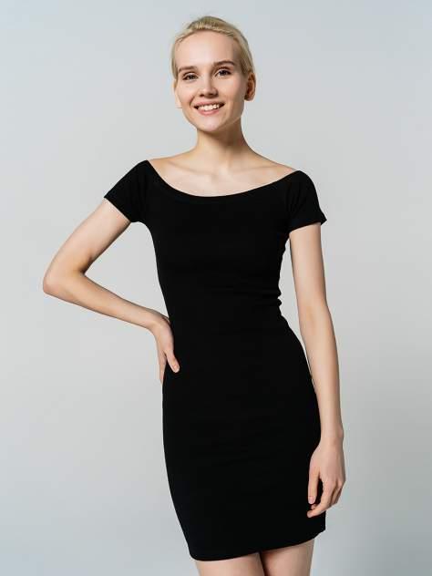Платье-футболка женское ТВОЕ 80594 черные XL