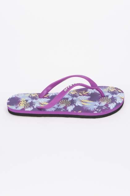 Шлепанцы женские Effa 52353 фиолетовые 38 RU