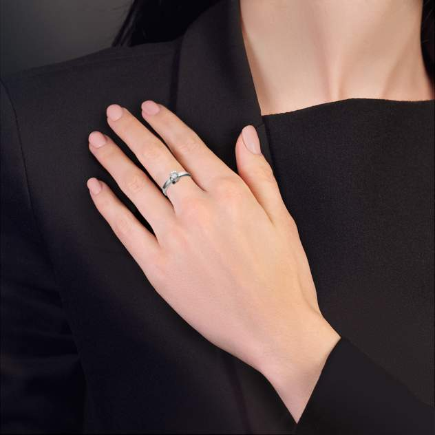 Кольцо женское Платина 01-5211-00-504-1120-38 р.20