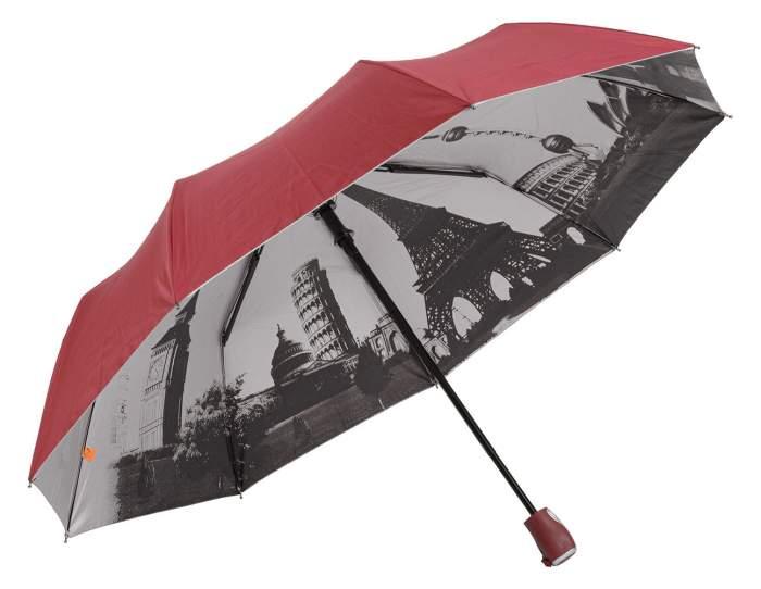Зонт женский frei Regen 2001-FAV бордовый