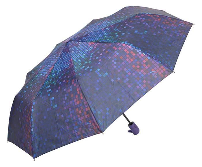 Зонт женский Rain Lucky 720-LAP фиолетовый