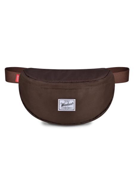 Поясная сумка Woodsurf EXPRESS ACADEMY коллекция CAMP FIRES коричневая