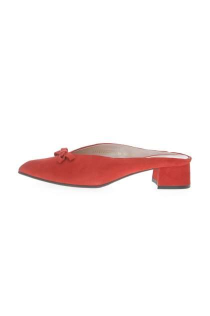 Мюли женские Argo 31212100 красные 37 RU