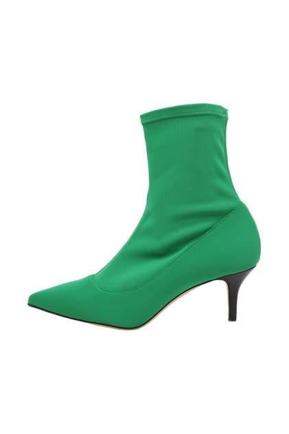 Ботильоны женские Baldinini Trend DE8715P50SALV зеленые 38 RU
