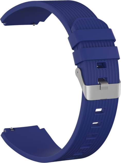 Ремешок для часов GSMIN Italian Collection 22 для GearS3/GalaxyWatch(46mm) Синий