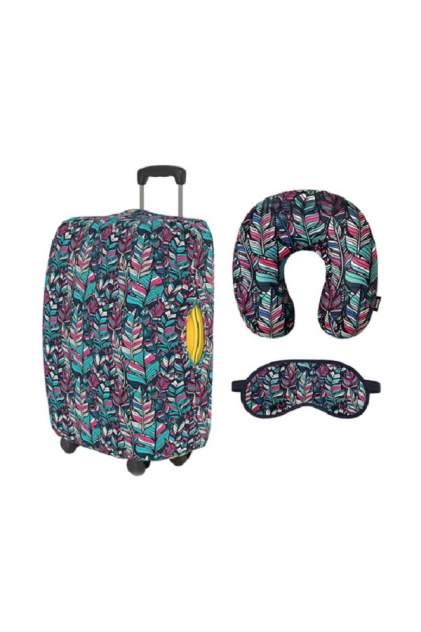 Чехол для чемодана RATEL R3_80_118WT_052_BF260U_L БИРЮЗОВЫЙ, БЕЛЫЙ, РОЗОВЫЙ