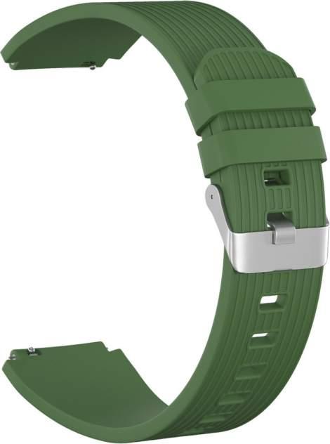 Ремешок для часов GSMIN Italian Collection 22 для GearS3/GalaxyWatch(46mm) Зеленый