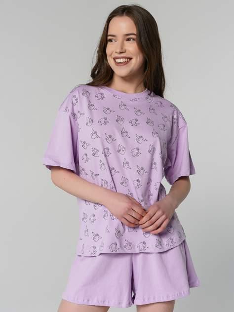 Пижама ТВОЕ 80243, фиолетовый