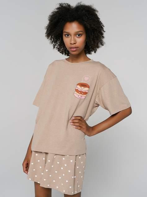 Пижама ТВОЕ 80256, бежевый